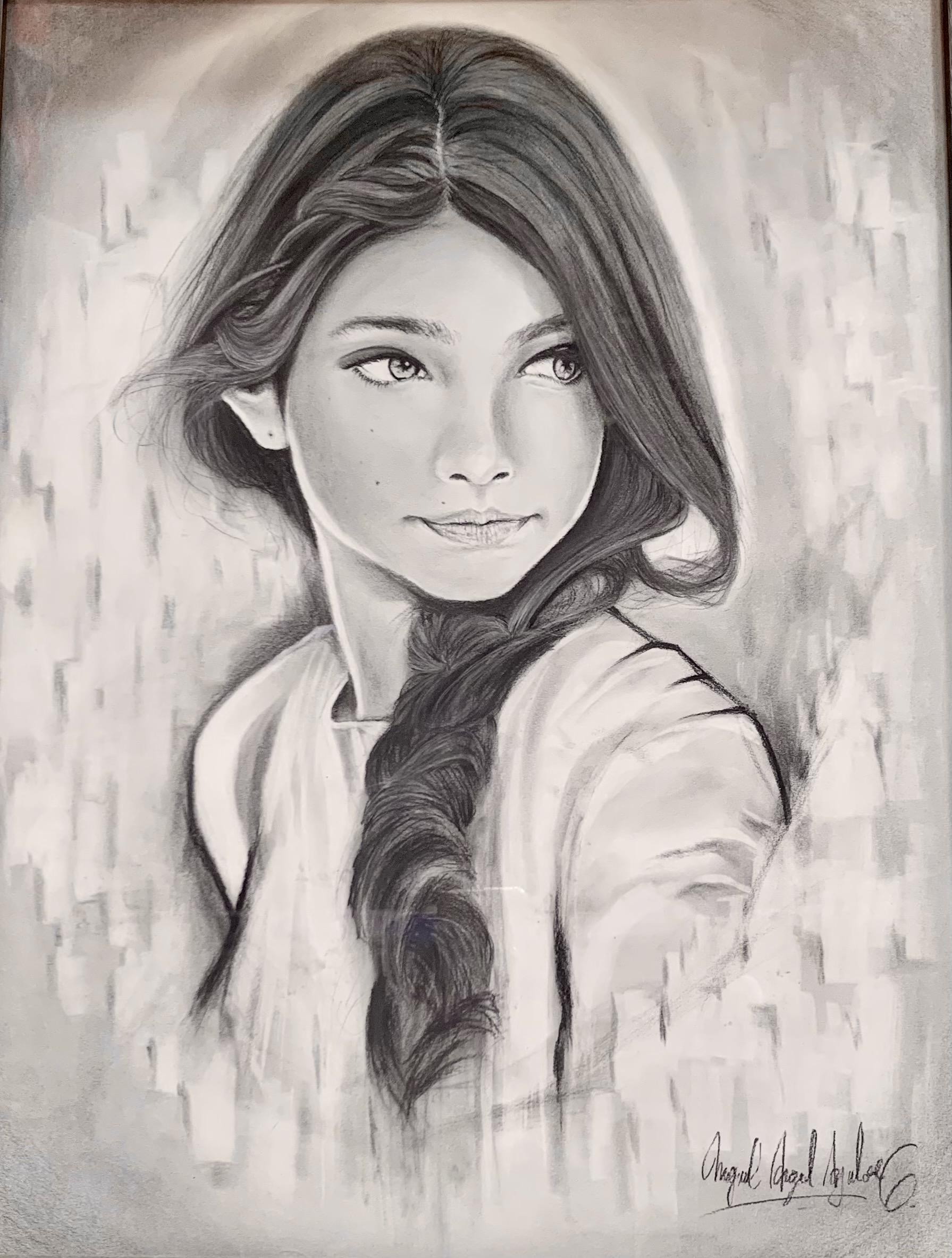 Artist #10 - Study of Girl