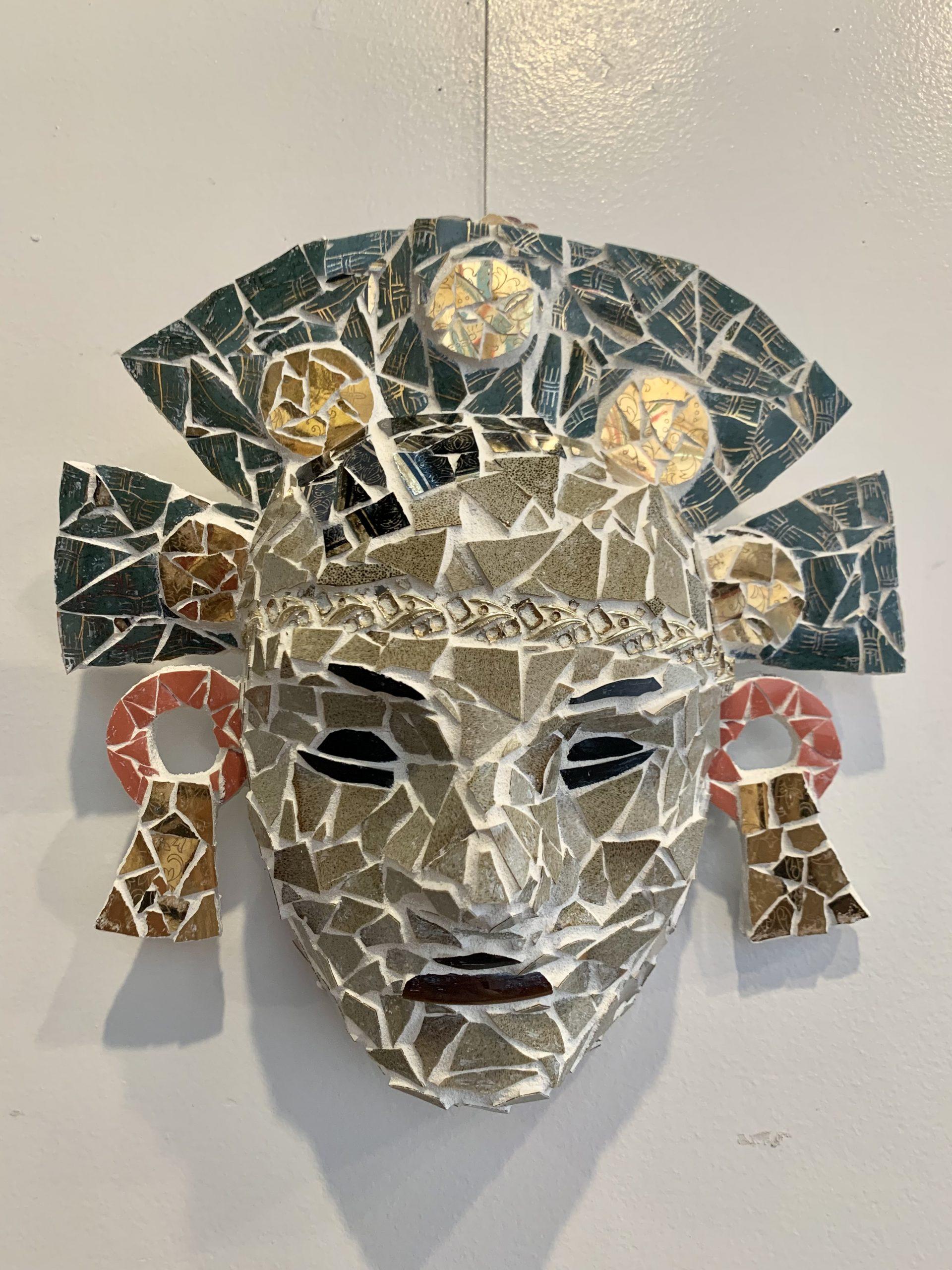 Artist #7 - Mayan Mask 3
