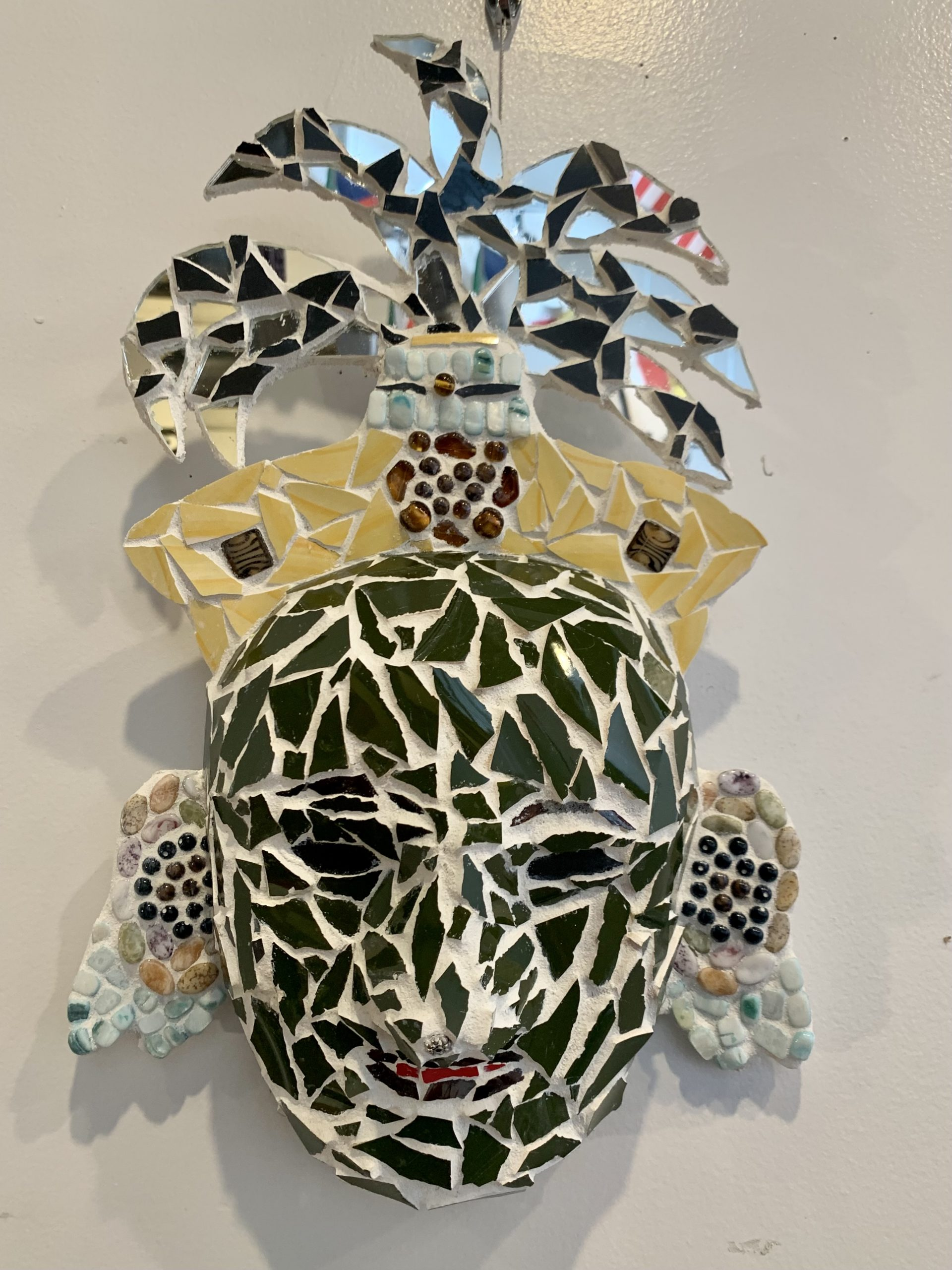 Artist #7 - Mayan Mask 1