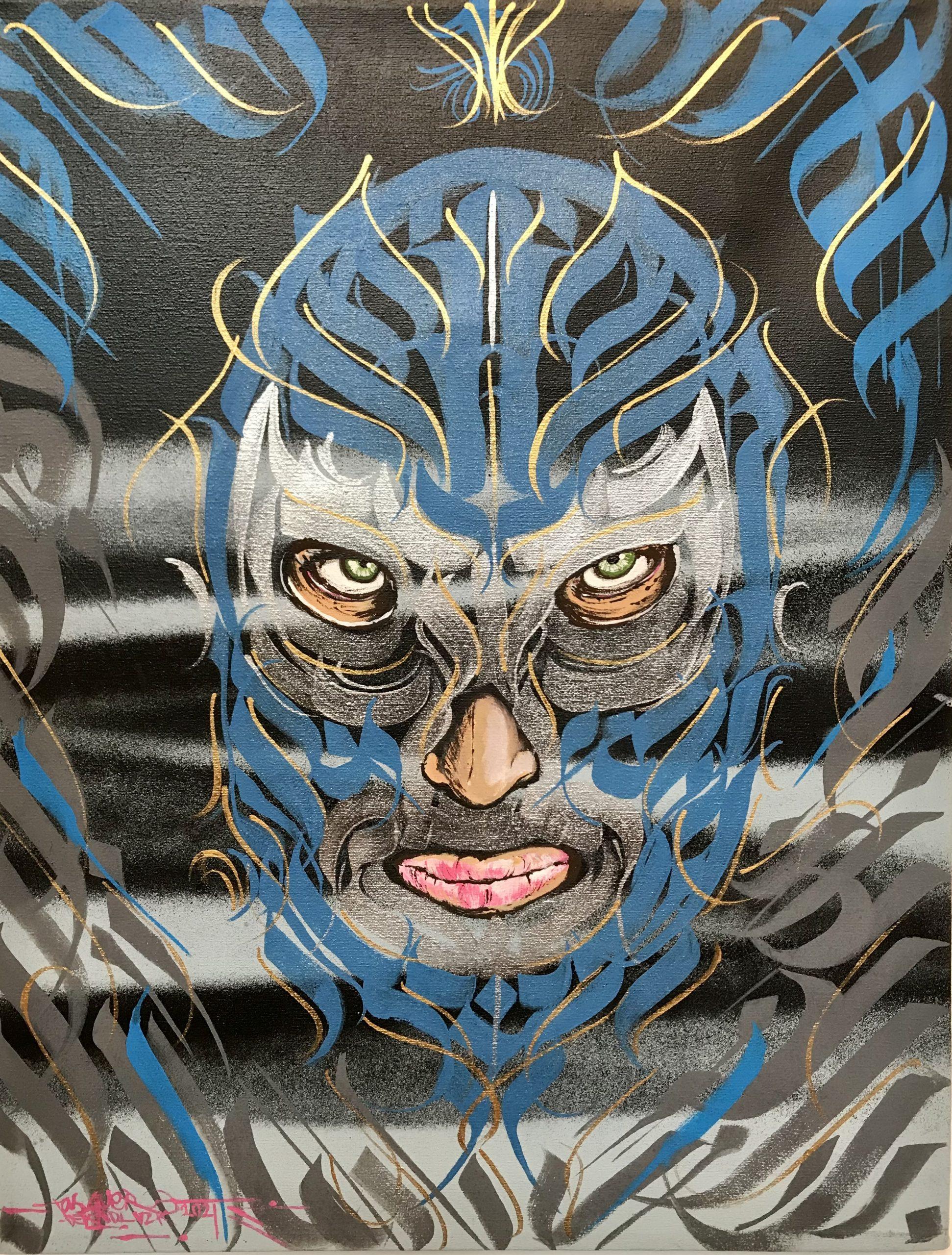 Artist #18 - Blue Demon
