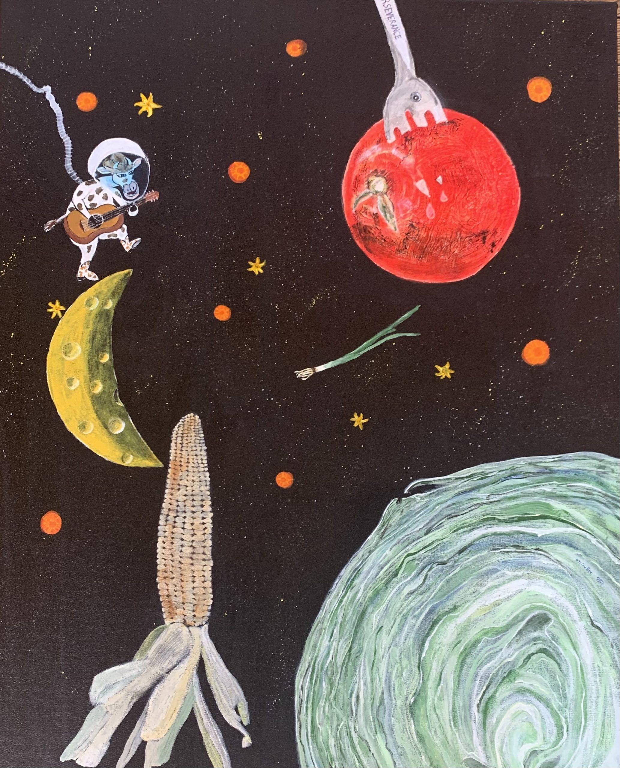 Artist #15 - Mission Accomplished: Veggie-tation on Mars