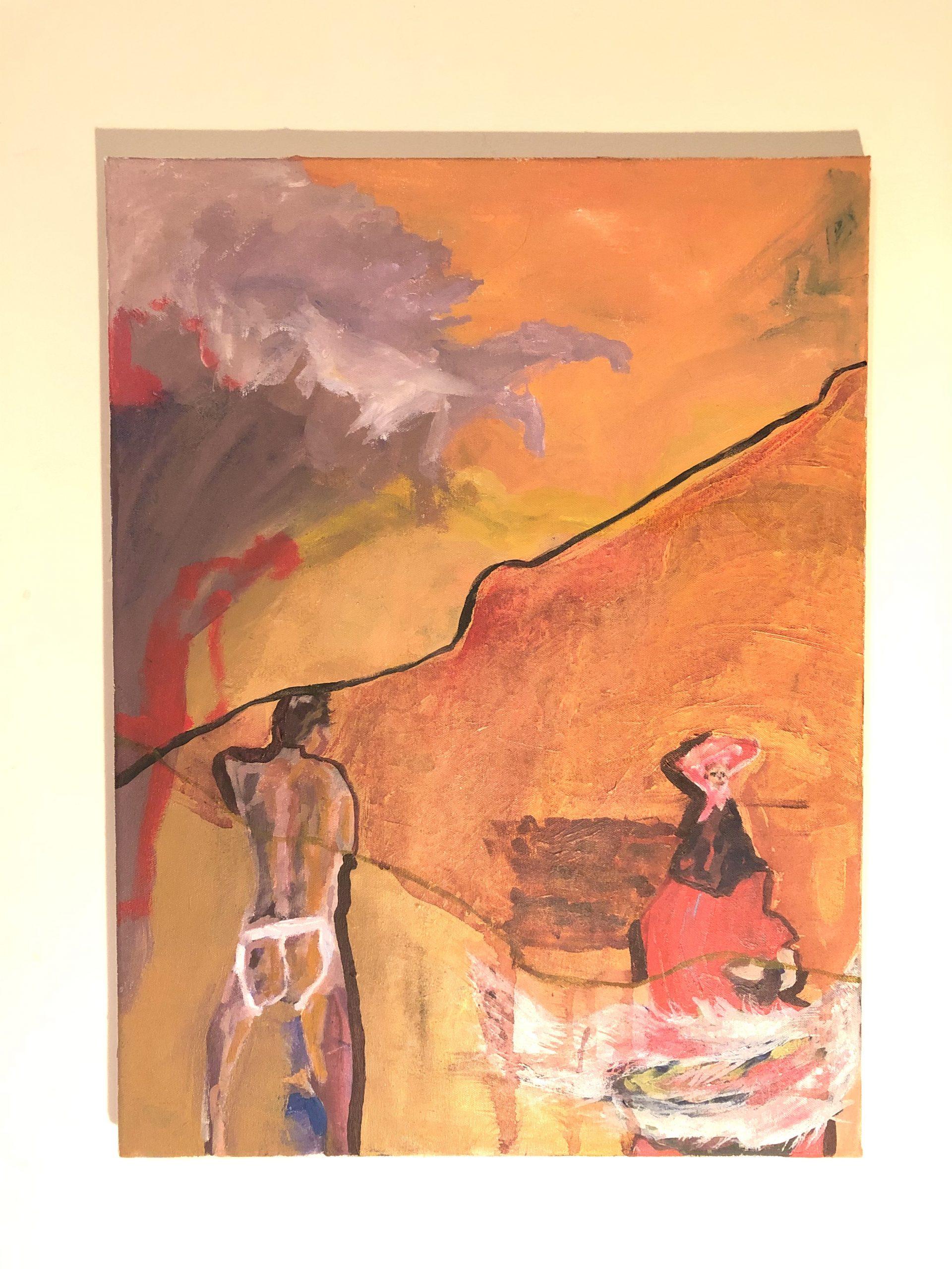 """A Reocurring Dream"" Acrylic on Canvas"
